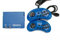 """Sega-Dendy """"Hamy 4"""" (350-in-1) Granturismo Blue"""