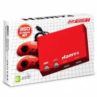 """16bit - 8bit """"Hamy 4"""" (350-in-1) Classic Red"""